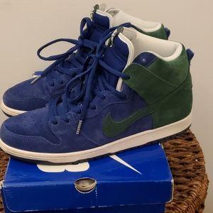 Nike SB Dunk High Pro Seahawks Green/Blue size 12